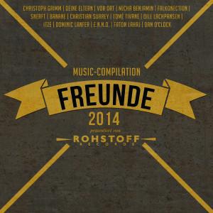 Freunde 2014 - Sampler-Cover