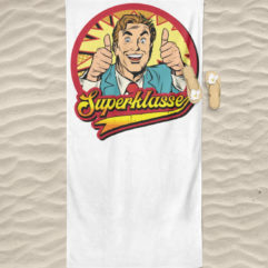 Superklasse Logo Handtuch - High quality beach towel-3