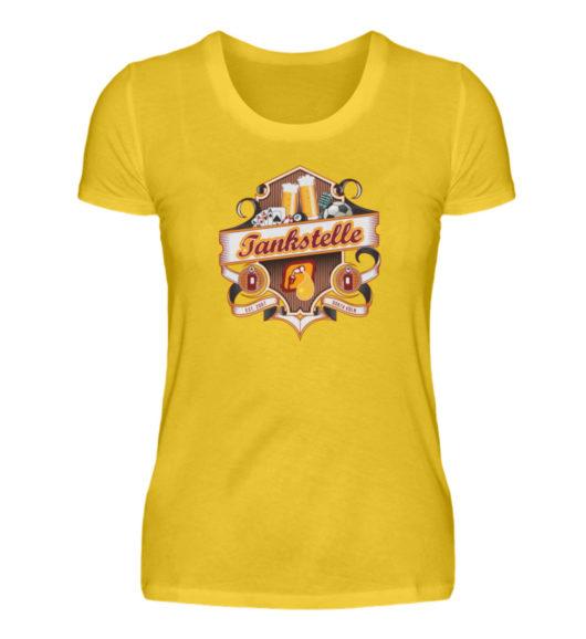 Tankstelle Logo - Damenshirt-3201