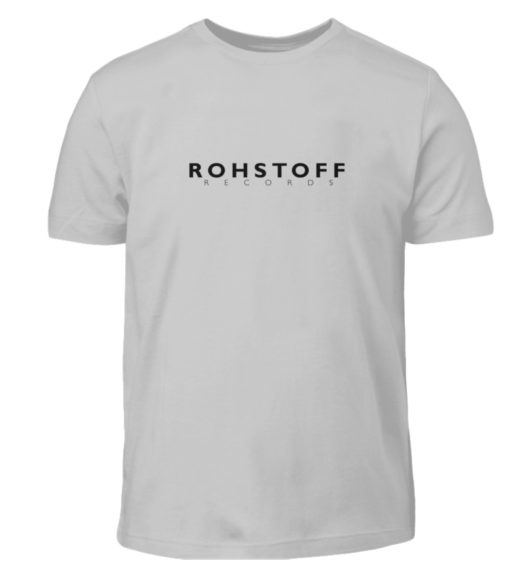 Rohstoff Records Logo - Kinder T-Shirt-1157