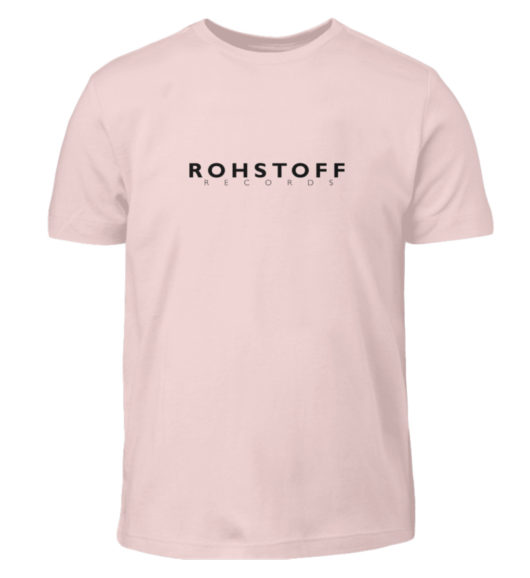 Rohstoff Records Logo - Kinder T-Shirt-5823