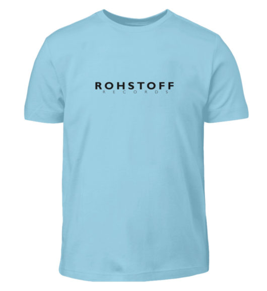 Rohstoff Records Logo - Kinder T-Shirt-674
