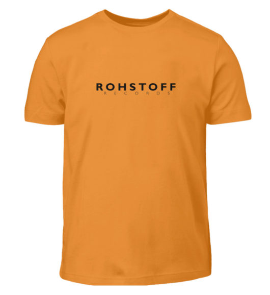 Rohstoff Records Logo - Kinder T-Shirt-20