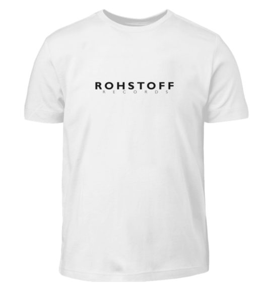 Rohstoff Records Logo - Kinder T-Shirt-3