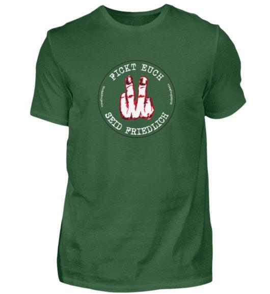 Micha Benjamin Finger Logo - Herren Shirt-833