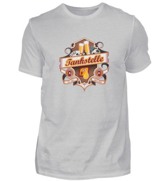 Tankstelle Logo - Herren Shirt-1157