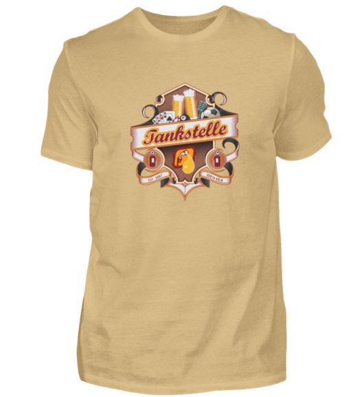 Tankstelle Logo - Herren Shirt-224
