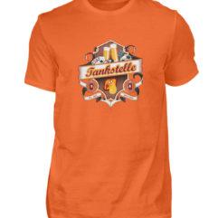 Tankstelle Logo - Herren Shirt-1692