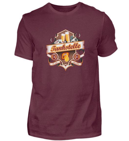 Tankstelle Logo - Herren Shirt-839