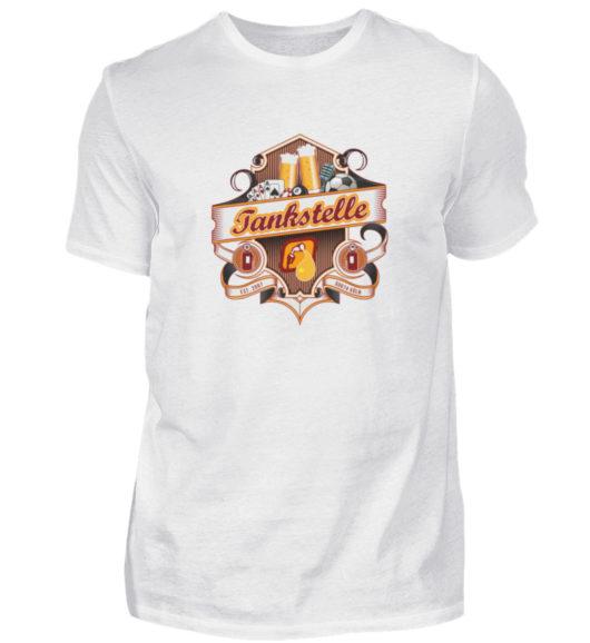 Tankstelle Logo - Herren Shirt-3
