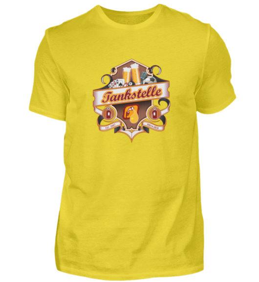 Tankstelle Logo - Herren Shirt-1102