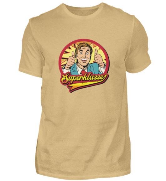Superklasse Logo - Herren Shirt-224