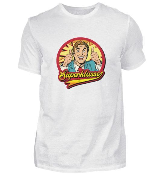 Superklasse Logo - Herren Shirt-3