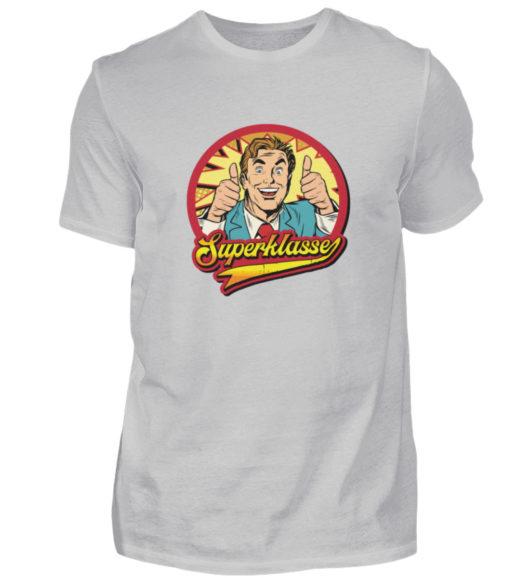 Superklasse Logo - Herren Shirt-1157