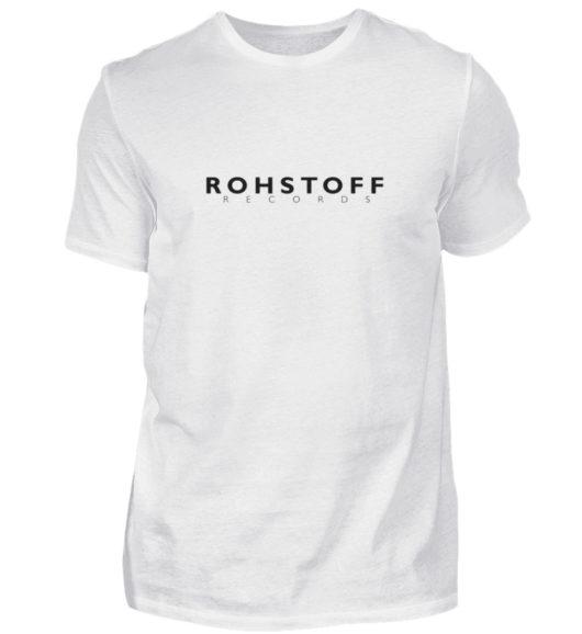 Rohstoff Records Logo - Herren Shirt-3