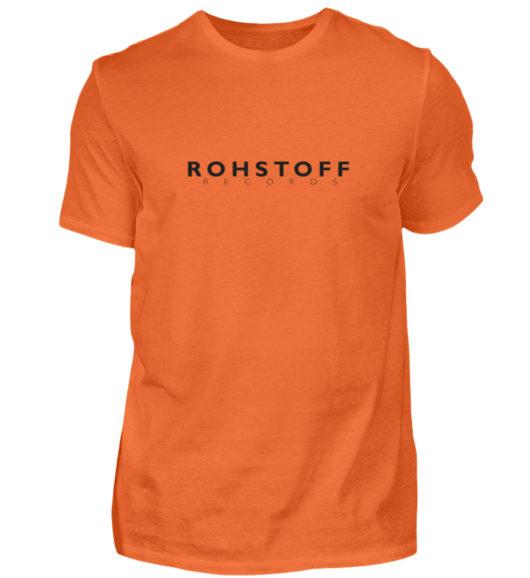 Rohstoff Records Logo - Herren Shirt-1692