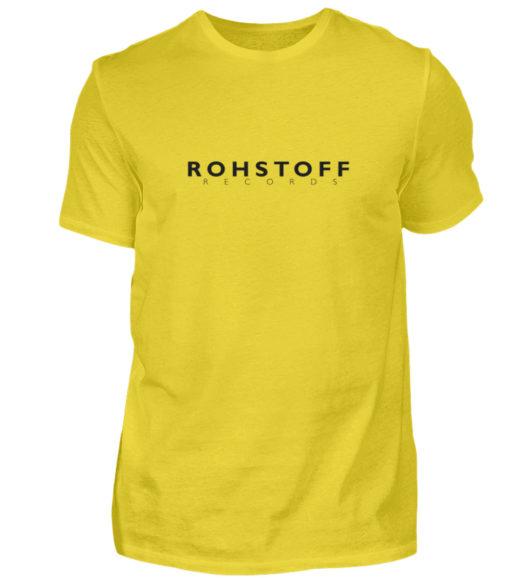 Rohstoff Records Logo - Herren Shirt-1102