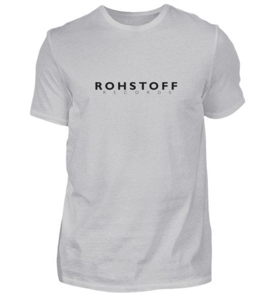 Rohstoff Records Logo - Herren Shirt-17