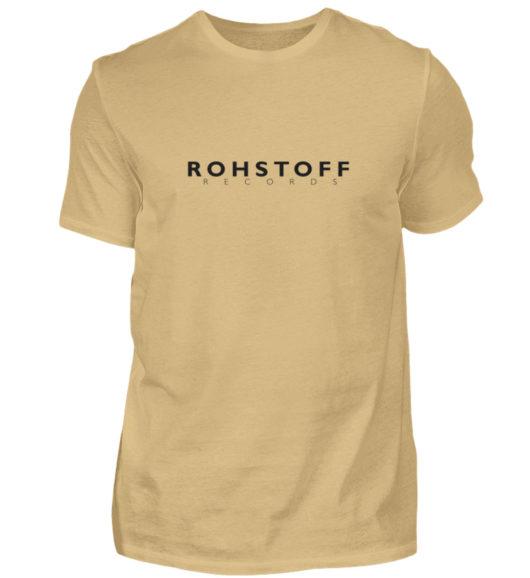 Rohstoff Records Logo - Herren Shirt-224