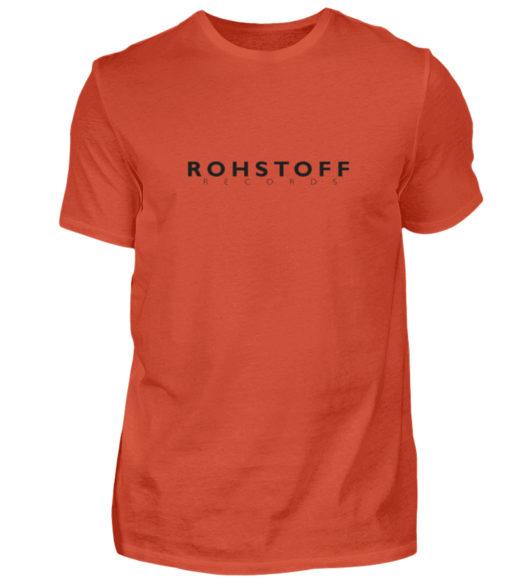Rohstoff Records Logo - Herren Shirt-1236