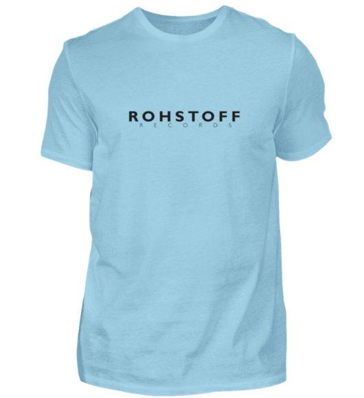 Rohstoff Records Logo - Herren Shirt-674