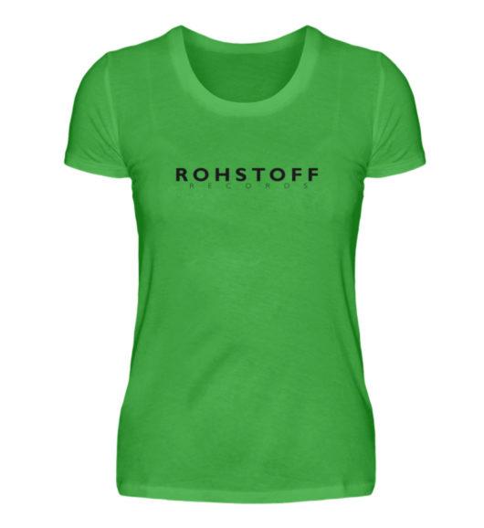 Rohstoff Records Logo - Damenshirt-2468