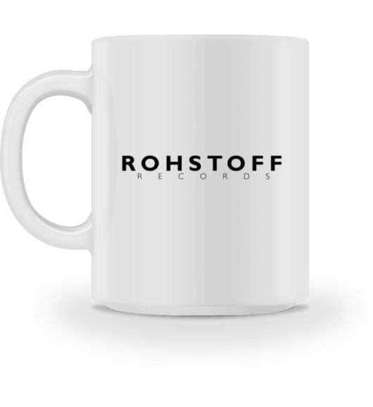 Rohstoff Records Logo - Tasse-3