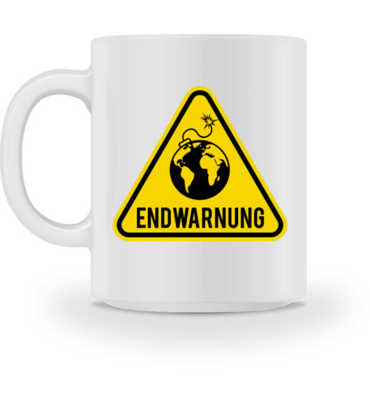 Endwarnung Logo - Tasse-3