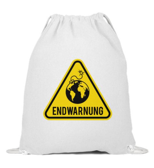 Endwarnung Logo - Baumwoll Gymsac-3