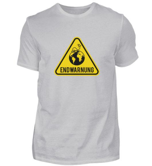 Endwarnung Logo - Herren Shirt-17