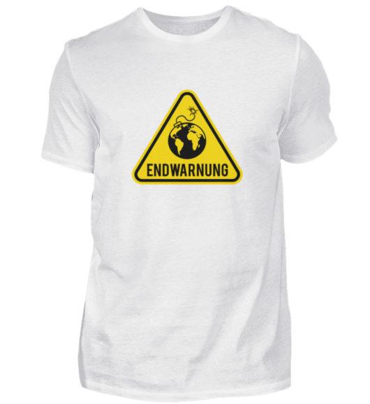Endwarnung Logo - Herren Shirt-3