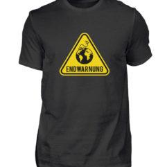 Endwarnung Logo - Herren Shirt-16