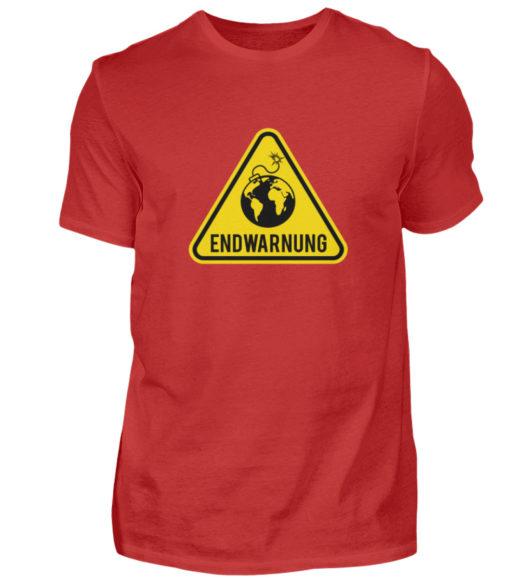 Endwarnung Logo - Herren Shirt-4
