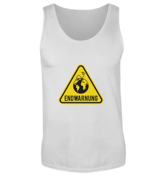Endwarnung Logo - Herren Tanktop-236